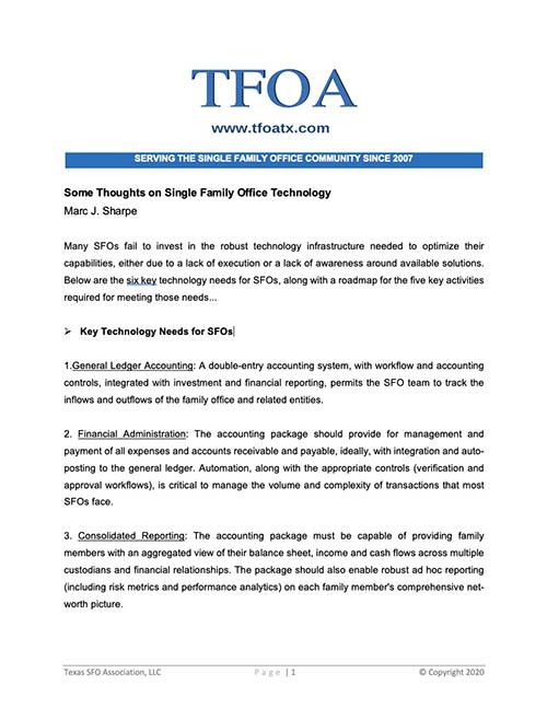 SFO Technology