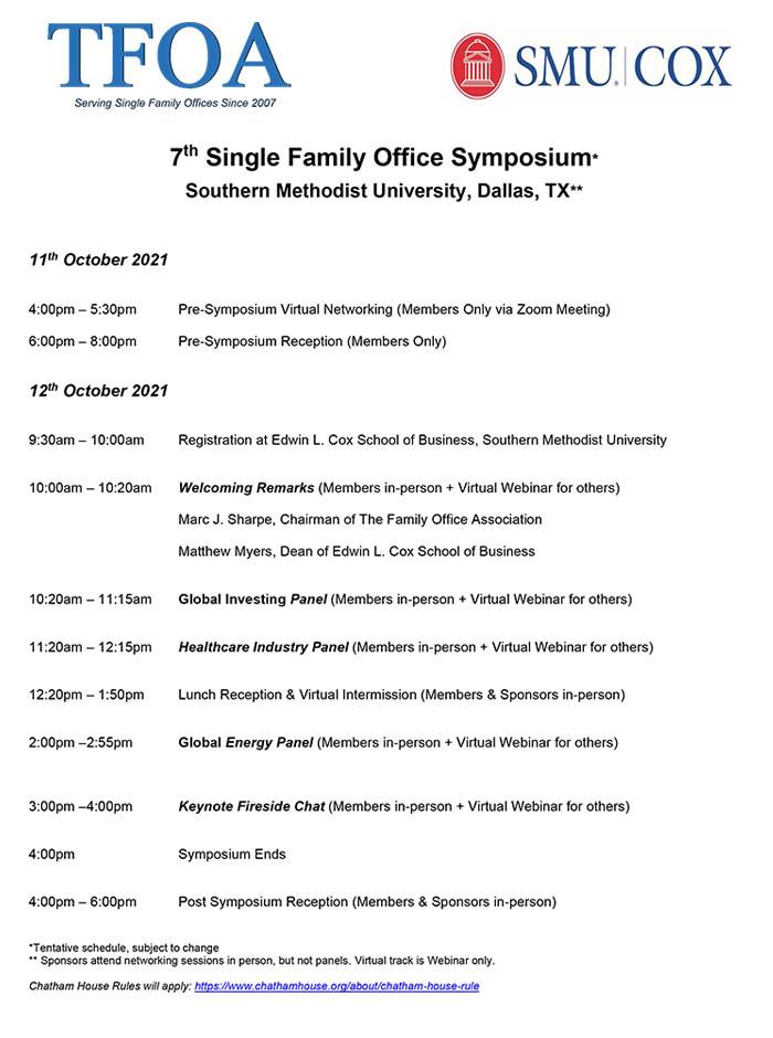 7th Annual Symposium